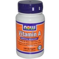 Vitamin A 10000 IU (100капс)