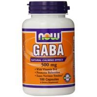 Gaba 500 mg with B-6 (100капс)